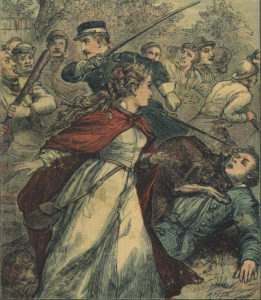Cover of <em>Sybil</em> by Benjamin Disraeli, 1881.